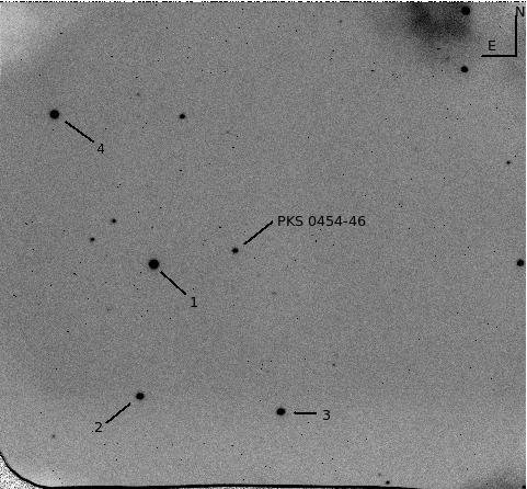0454-46 Optical Finding Chart