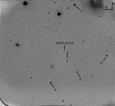 0507-6104 Optical Finding Chart