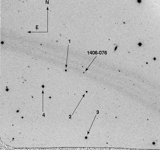 1406-076 Optical Finding Chart