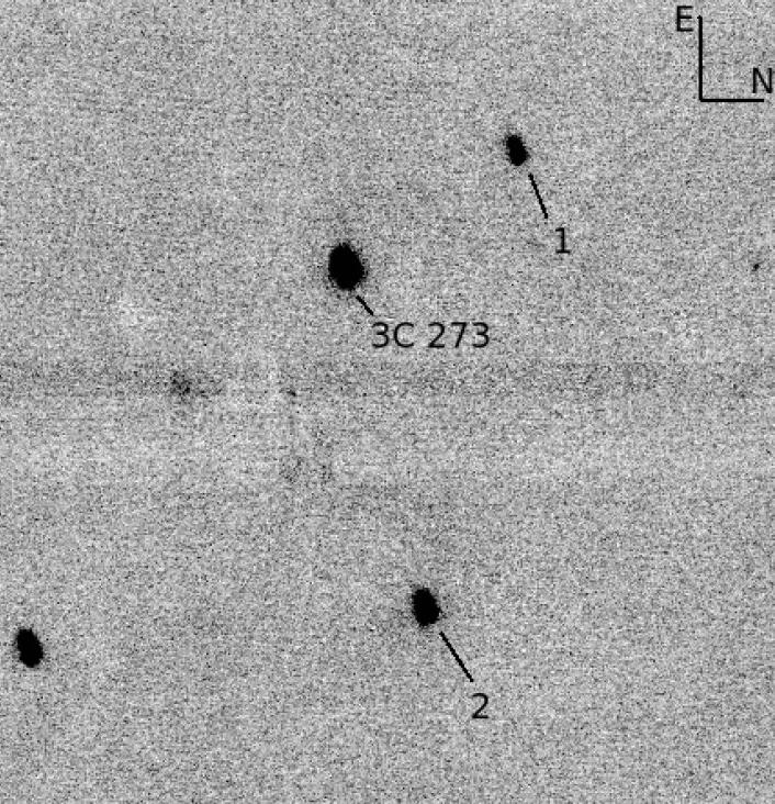3C 273 IR Finding Chart